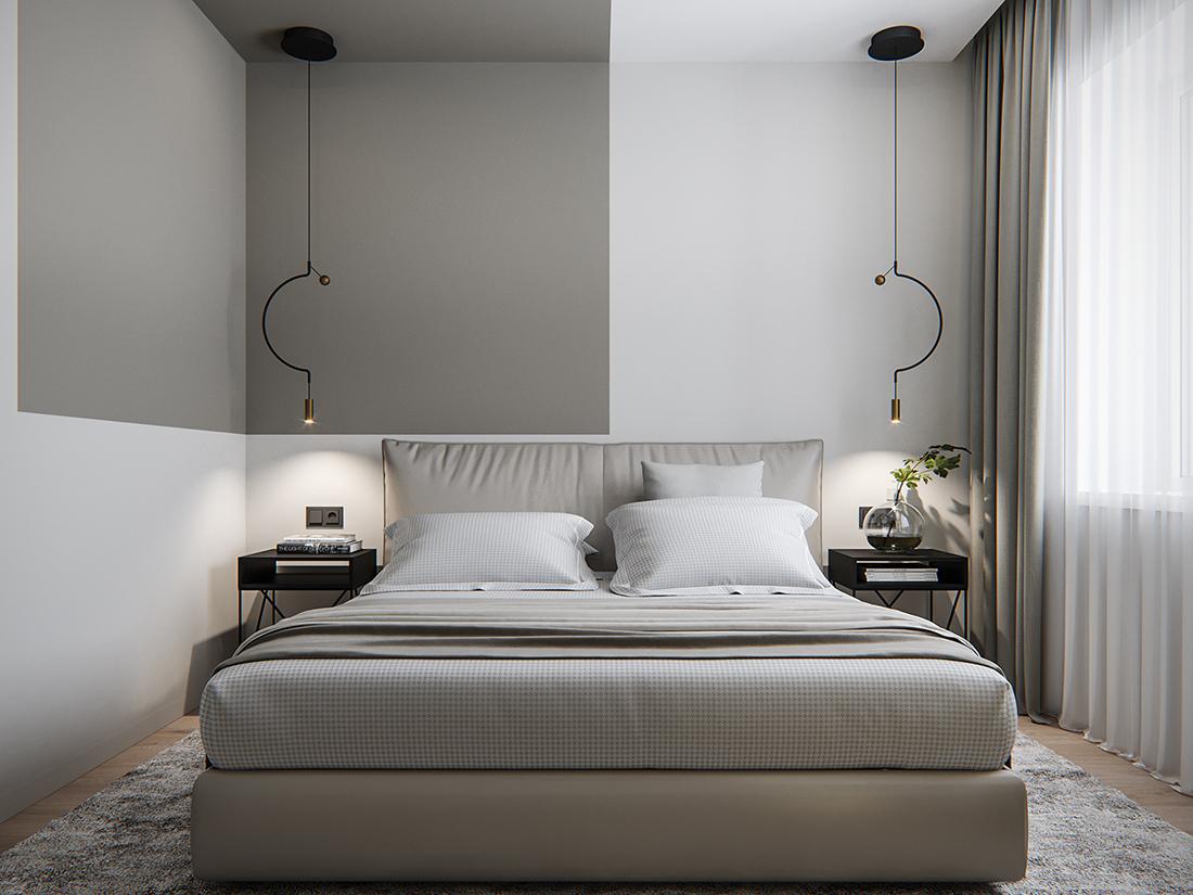 lampadari design camera da letto