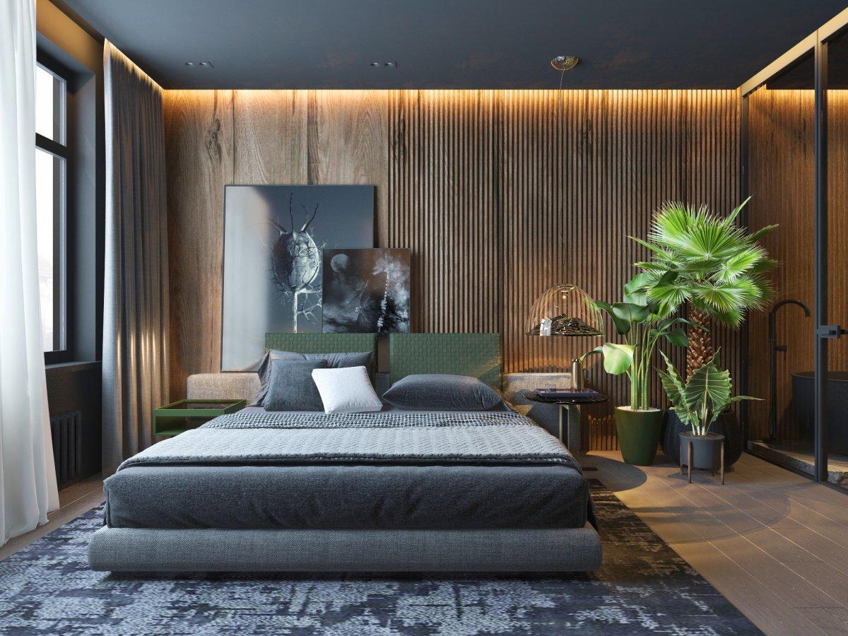 lampadari design per la camera da letto